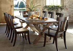 Complete dining room table set