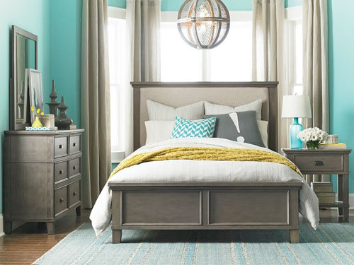 Bedroom furniture set by Bassett