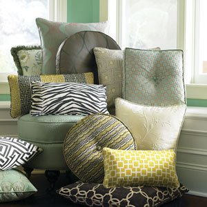 Pillows for interior design